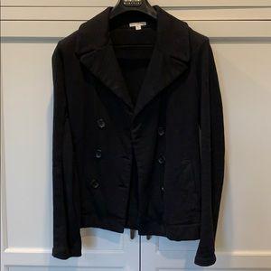 James Perse cotton pea coat